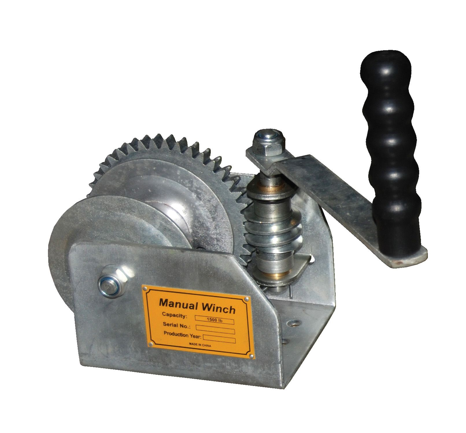 Industrial winches are pulling devices that use a wire, rope, cable ...