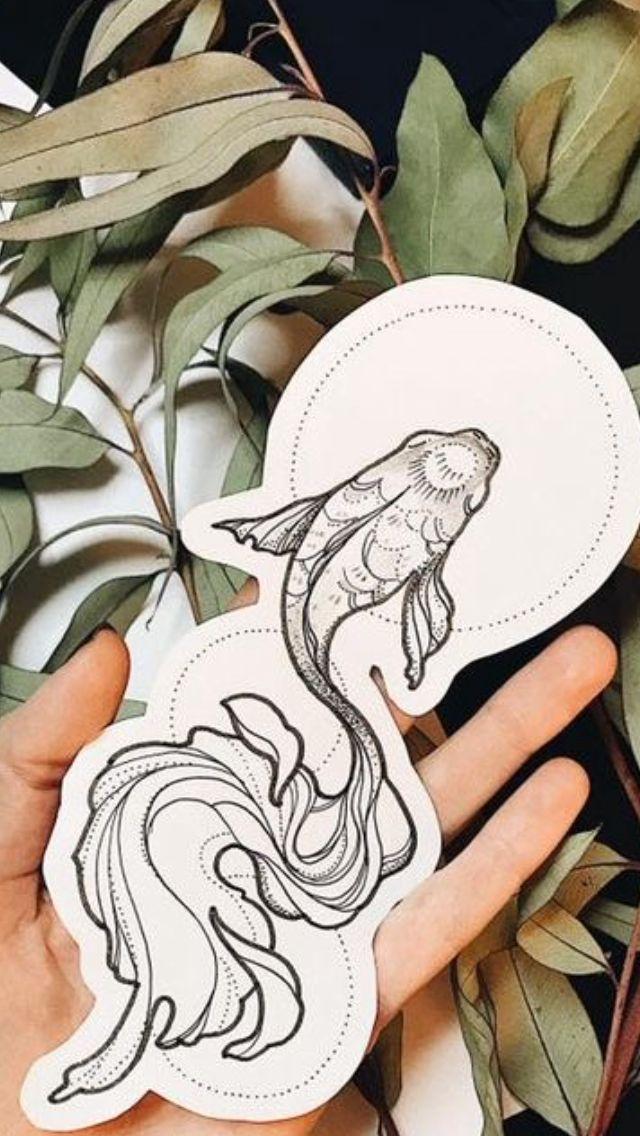 Photo of Koi Fish Tattoo – Nails & Tattoo – #Fish #Koi # Nails #Tattoo
