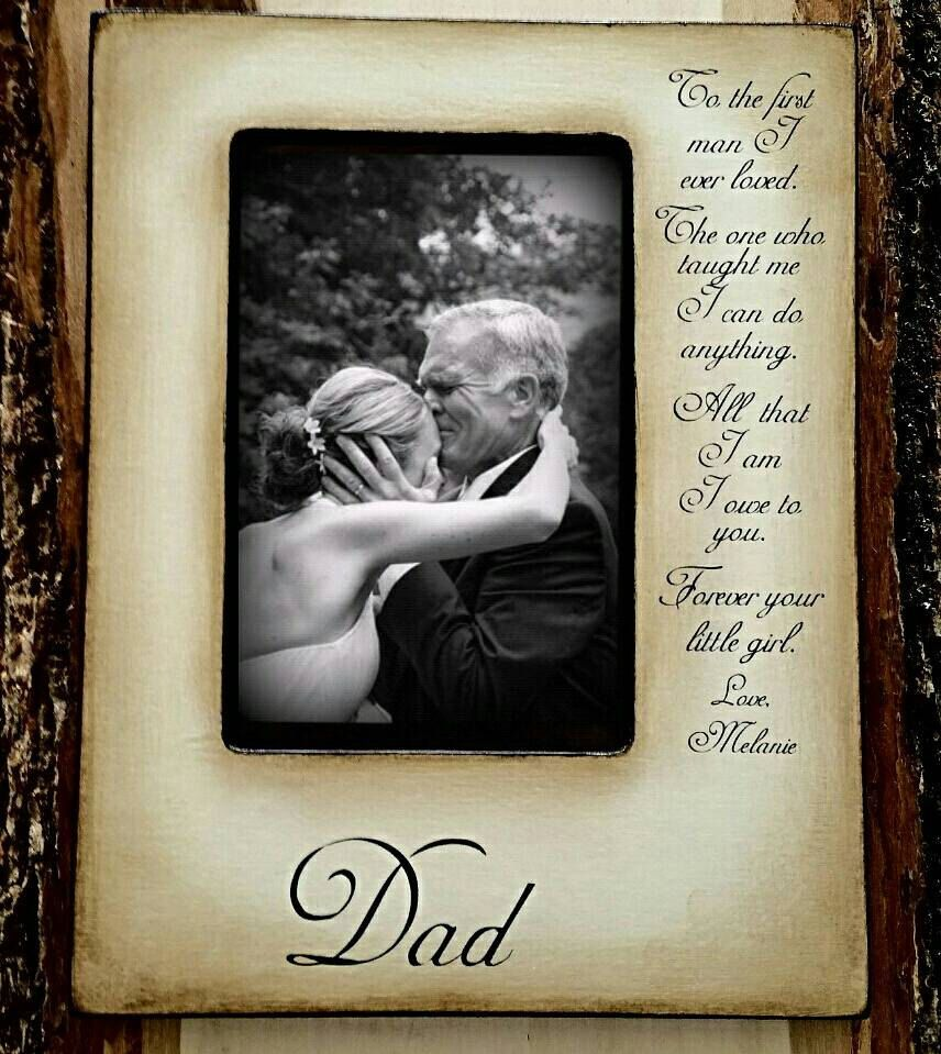 Father of the bride, Personalized gift, always your little girl ...