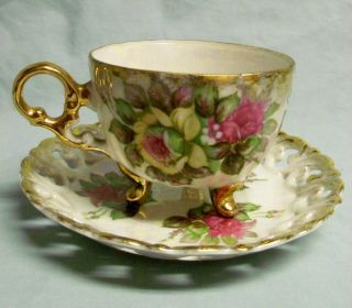 Decorative Arts Ceramics Porcelain Cups Saucers Antiques Tea Cups