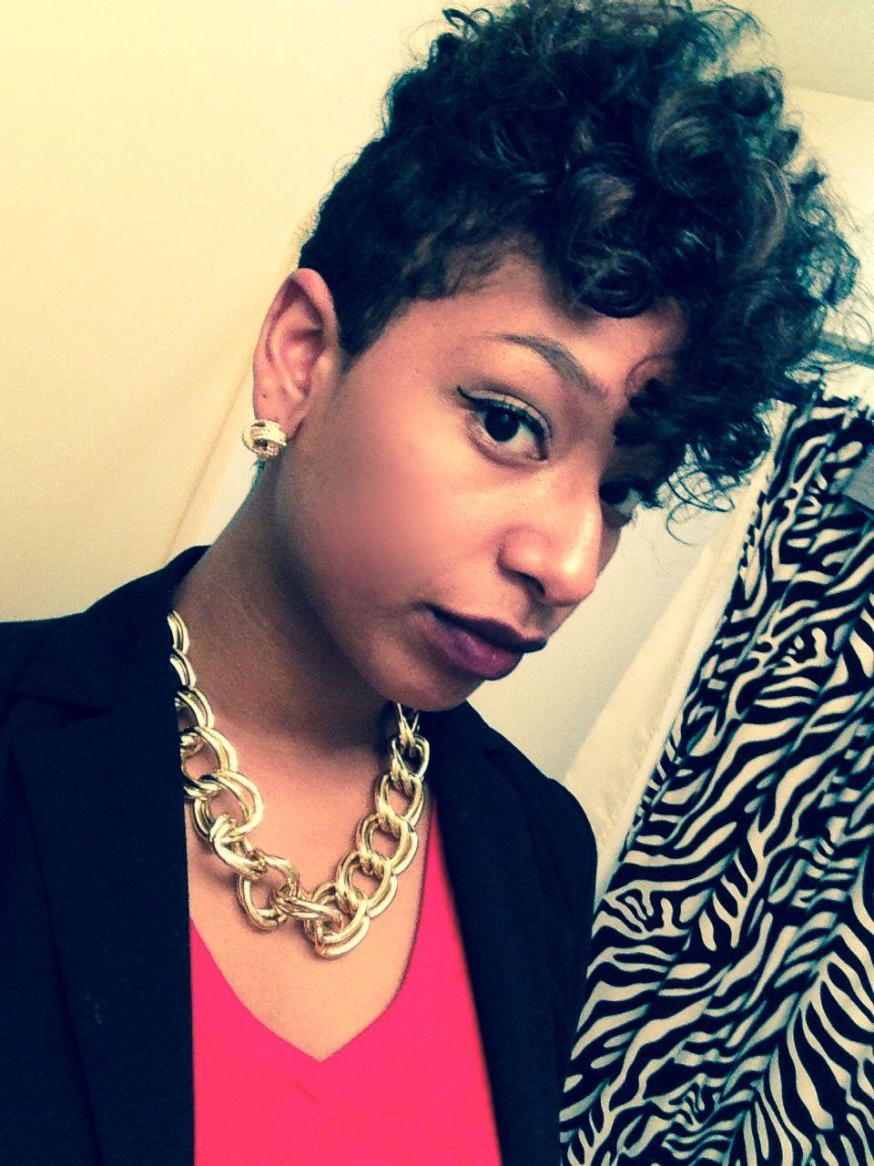 Short Hair Flexi Rod Set Pixie Cut Natural Hair Black Girls