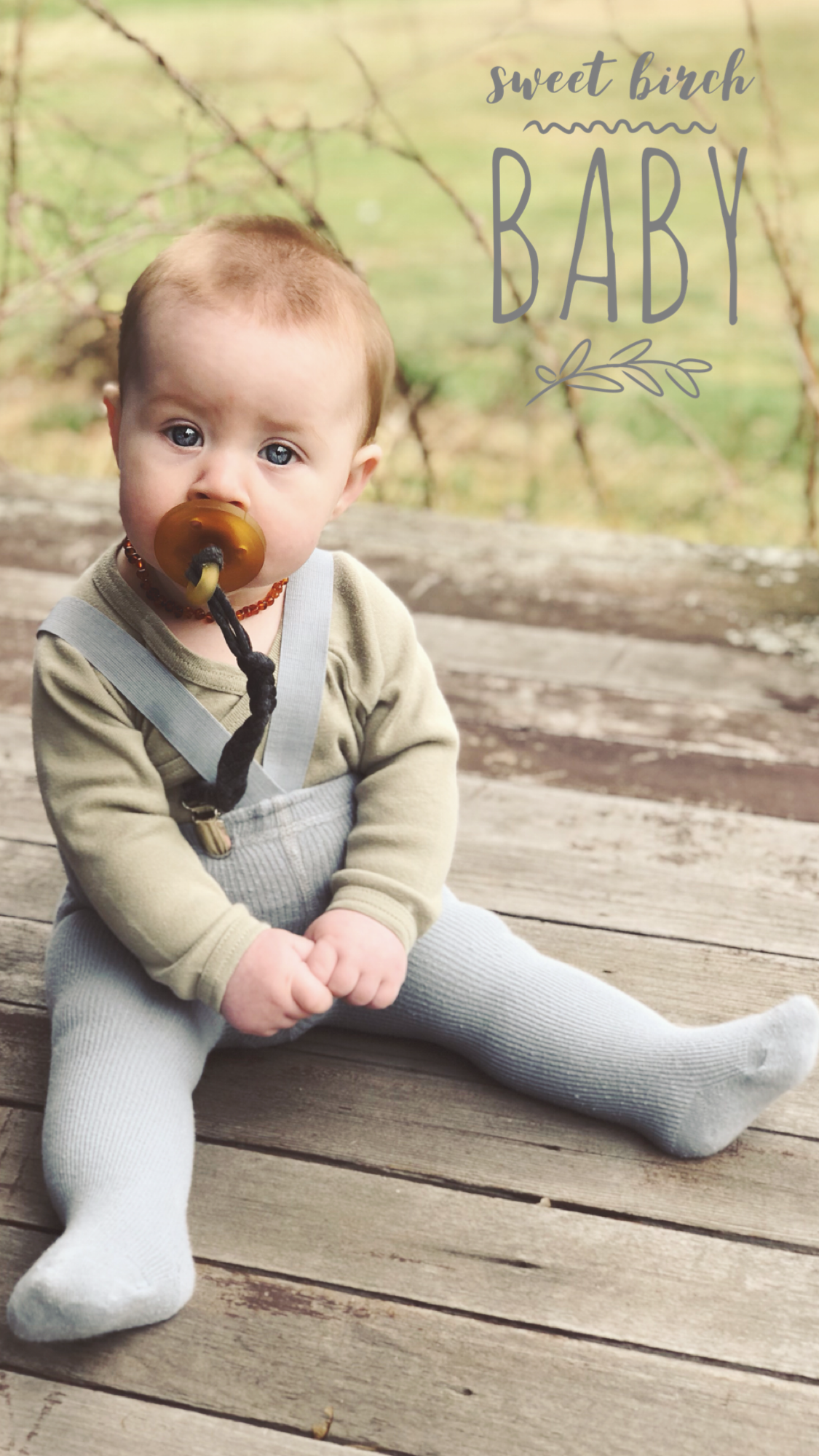 b75e69441fa Baby suspender tights. Sweet Birch Baby the Ellis Suspender Tights. For boys  or girls   gender neutral baby fashion.