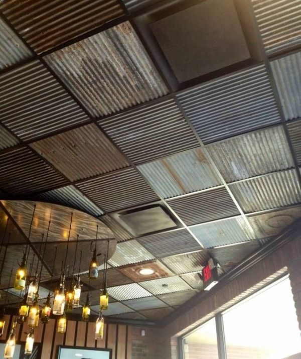 Decorative Ceiling Design Corrugated Metal Drop Ceiling