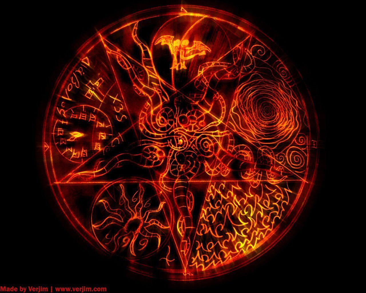 Fire pentagram.jpg 1,280×1,024 pixels THE VICTOR
