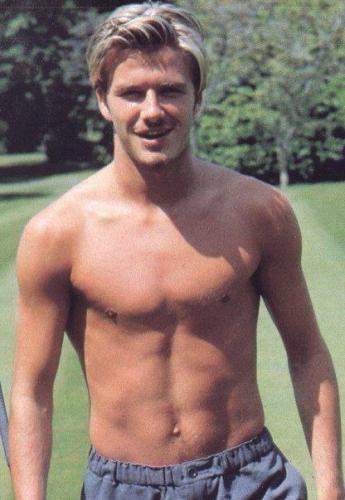Young David With Images David Beckham Shirtless David Beckham