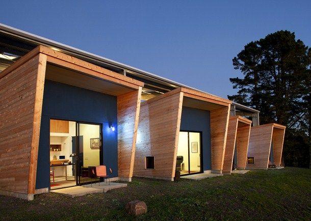 Artist sudio outdoor area.CCS Architecture