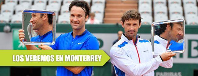 Los ex no. 1 del mundo españoles Juan Carlos Ferrero y Carlos Moyá disputarán el Champions Tour que ser realizará en el mes de octubre en Monterrey