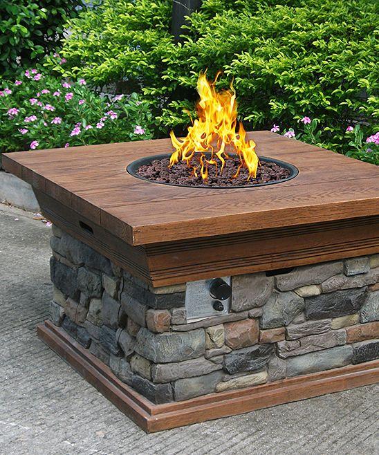 Backyard Creations Gas Fire Pit
