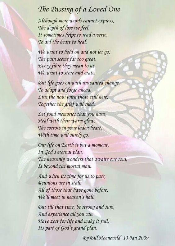 Angel Poems Loved Ones