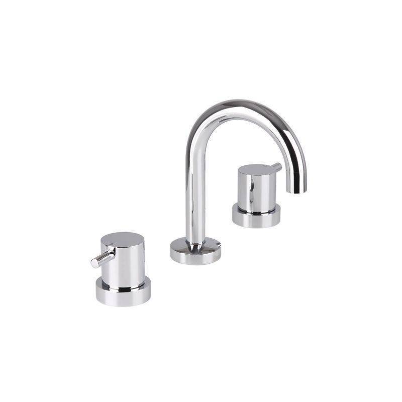 Mondella Wels 3 Star 9l Min Chrome Resonance Pin Lever Basin Set Basin Bathroom Tapware Chrome