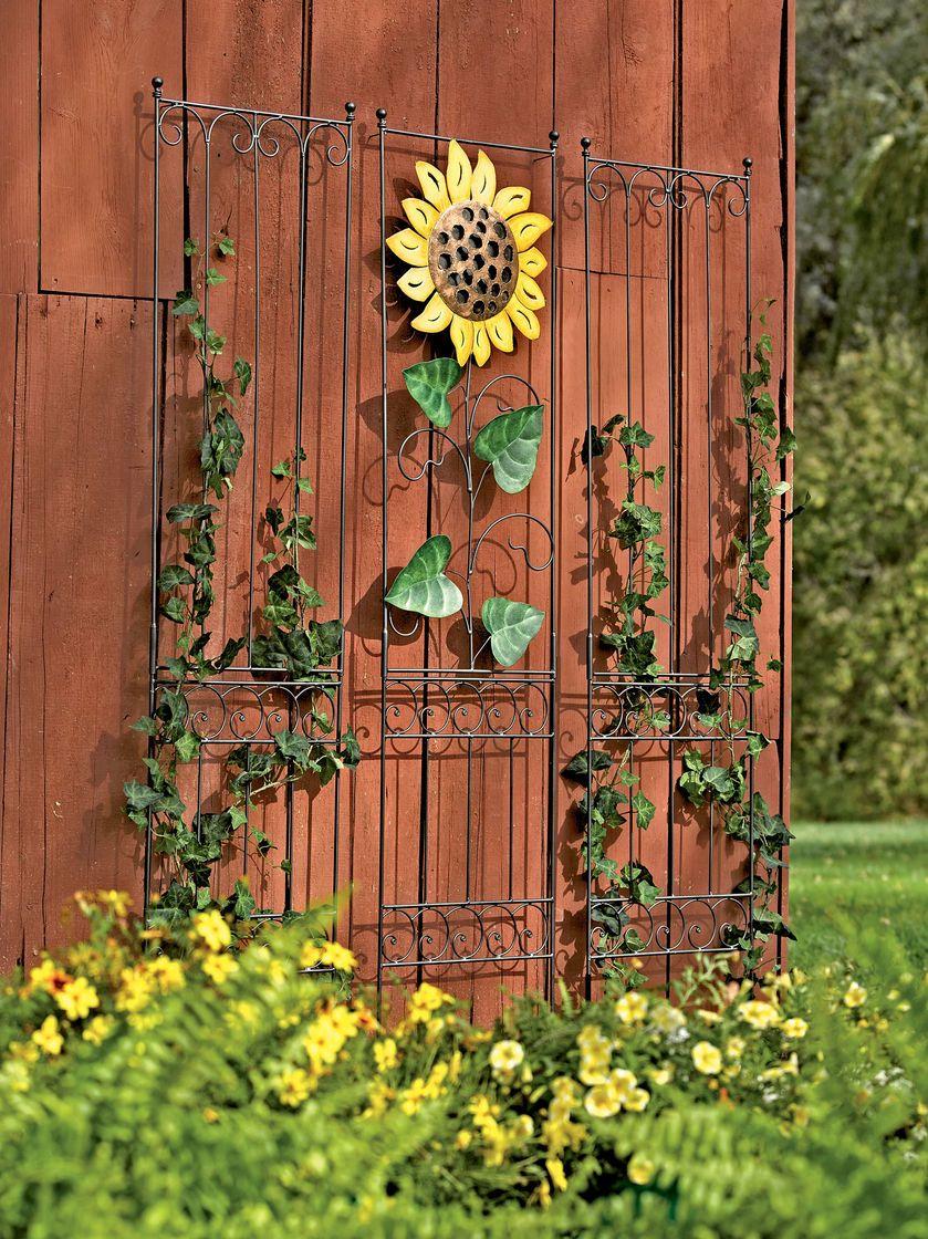 Garden Wall Trellis   Metal Trellis | Gardeners.com