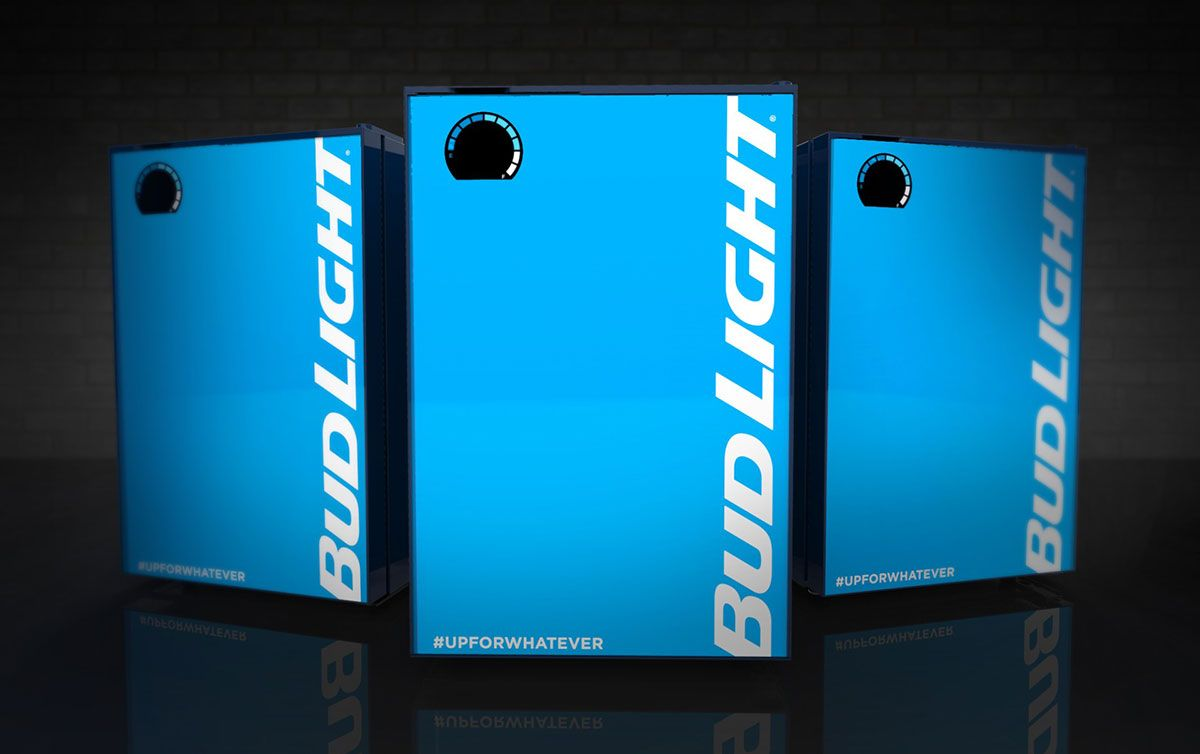 Bud Lights Connected Fridge Ensures You Never Run Out Of Beer