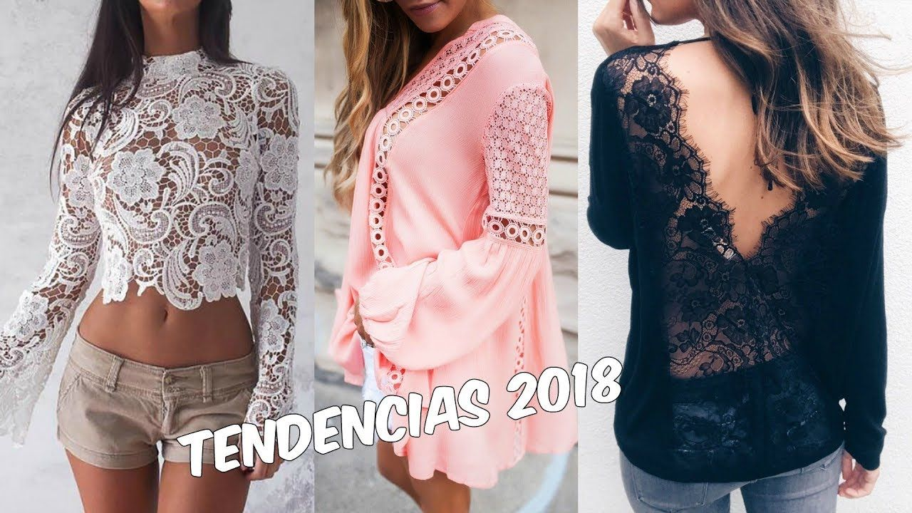 TENDENCIAS DE MODA 2018 | BLUSA DE MODA 2018 | Fashion Trends / FASHIONI.