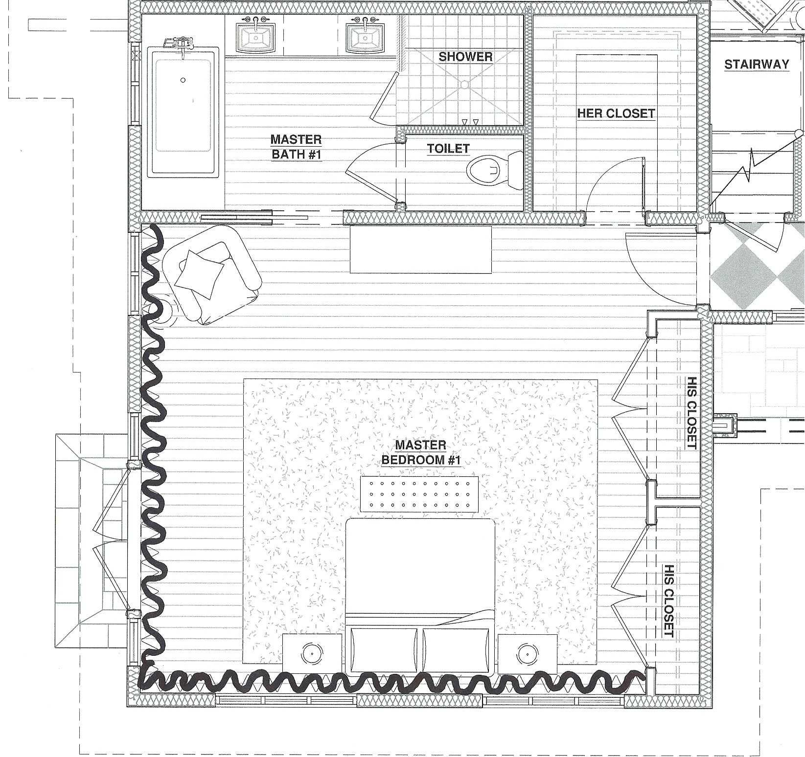 Master Ensuite Floor Plan Picture Novocom Top