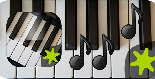 Piano Instrument Application with Admob Web design