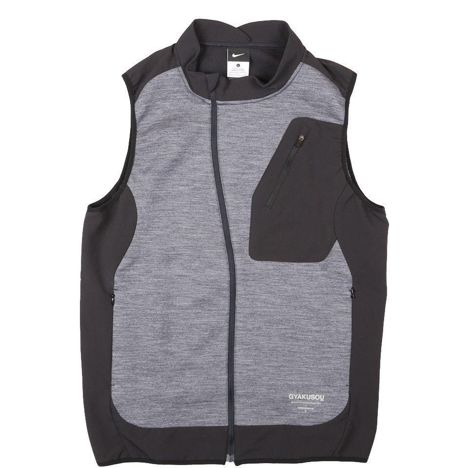 buy online c7e63 5ceb3 Nike AS Gyakusou Spacer Mesh Thermal Dark Obsidian