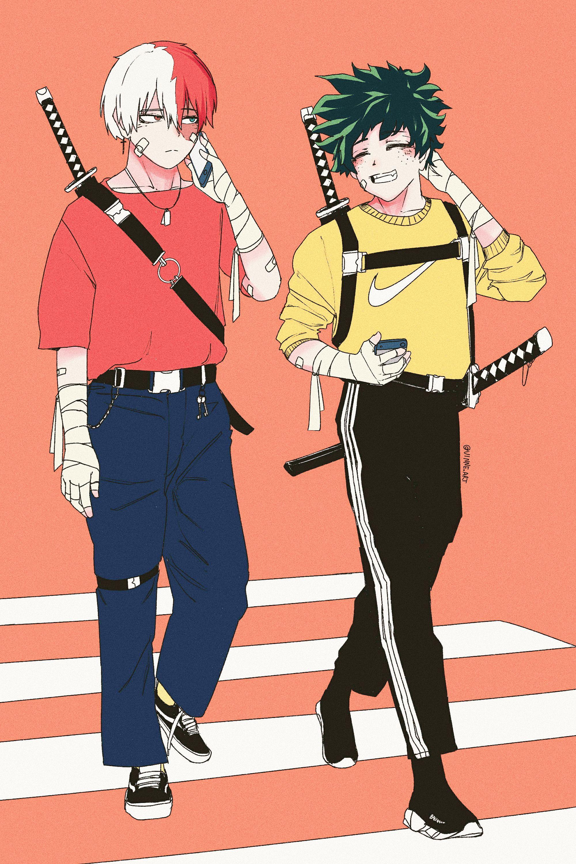 Boku No Hero Academia Anime Chibi My Hero Academia Manga Boy Art