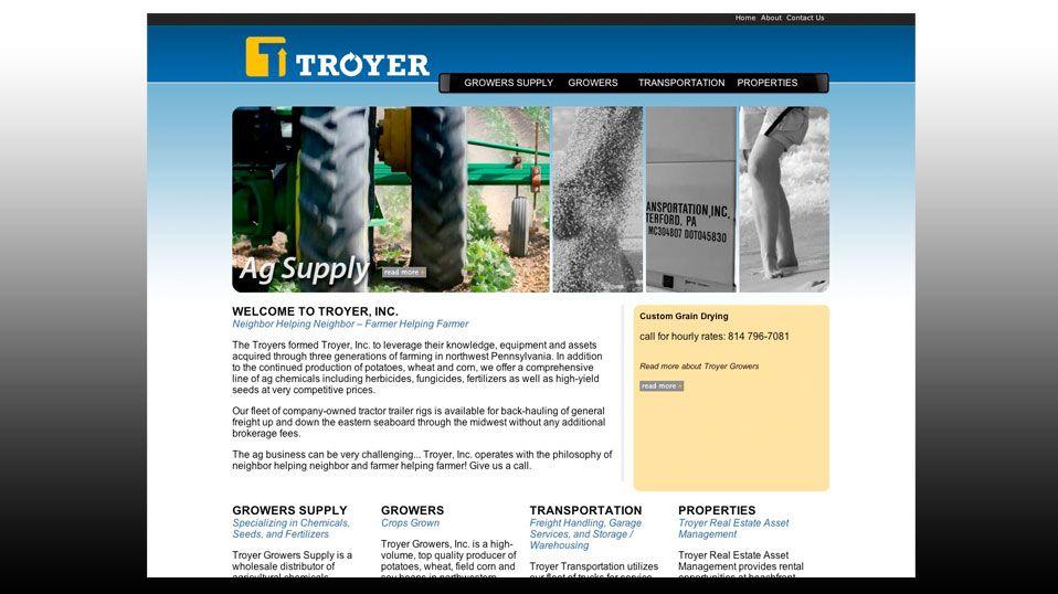 Troyerinc Website Design With Images Problem Solving Web Development Custom