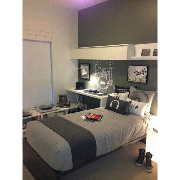 Teen Boys room Teen Boys Room ❤ liked on Polyvore featuring house