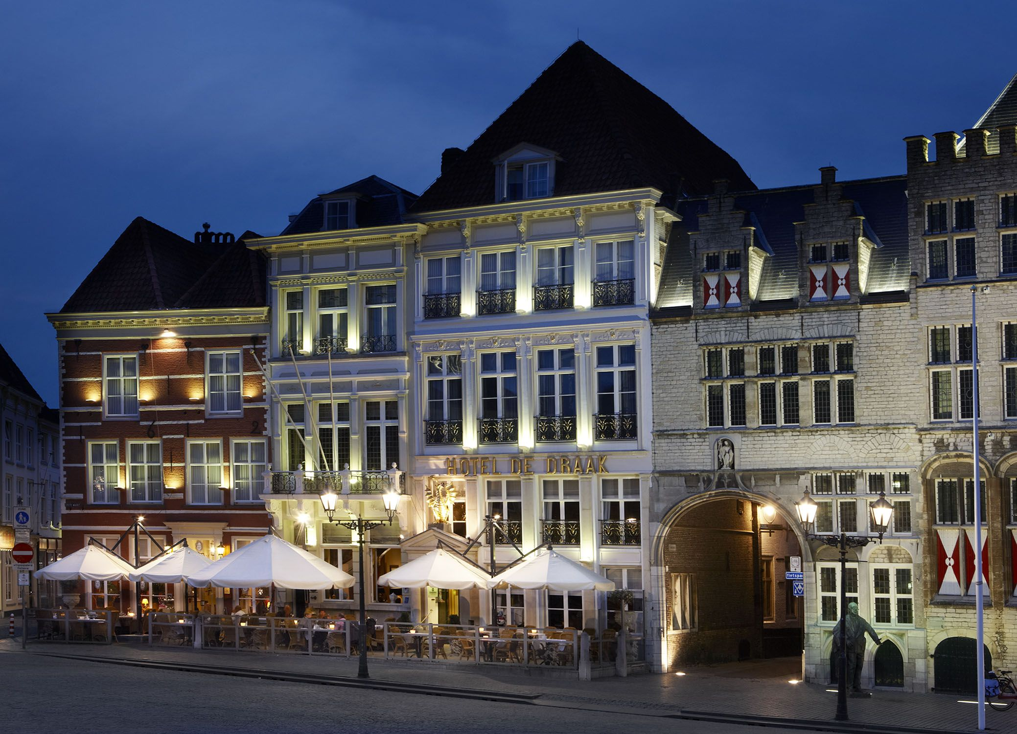 The oldest hotel of the Netherlands