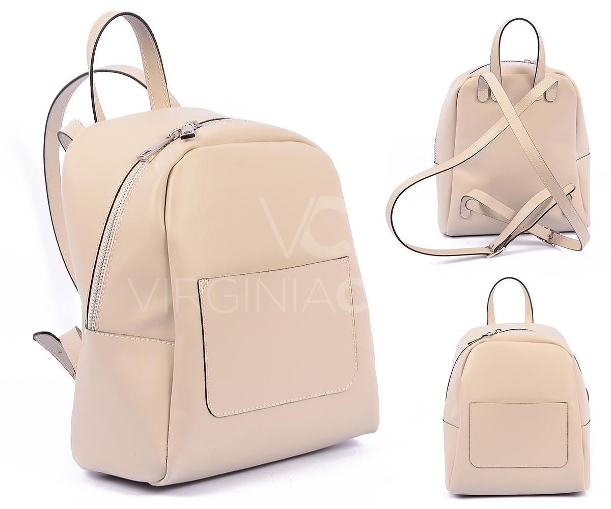 0a62c42077ed Женские рюкзаки от итальянского бренда Virginia Conti в Украине. Натуральная  гладкая кожа. Гарантия качества
