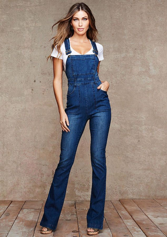 Alloy Spoon Jeans Natalia Highwaist Denim Overall on shopstyle.com ...