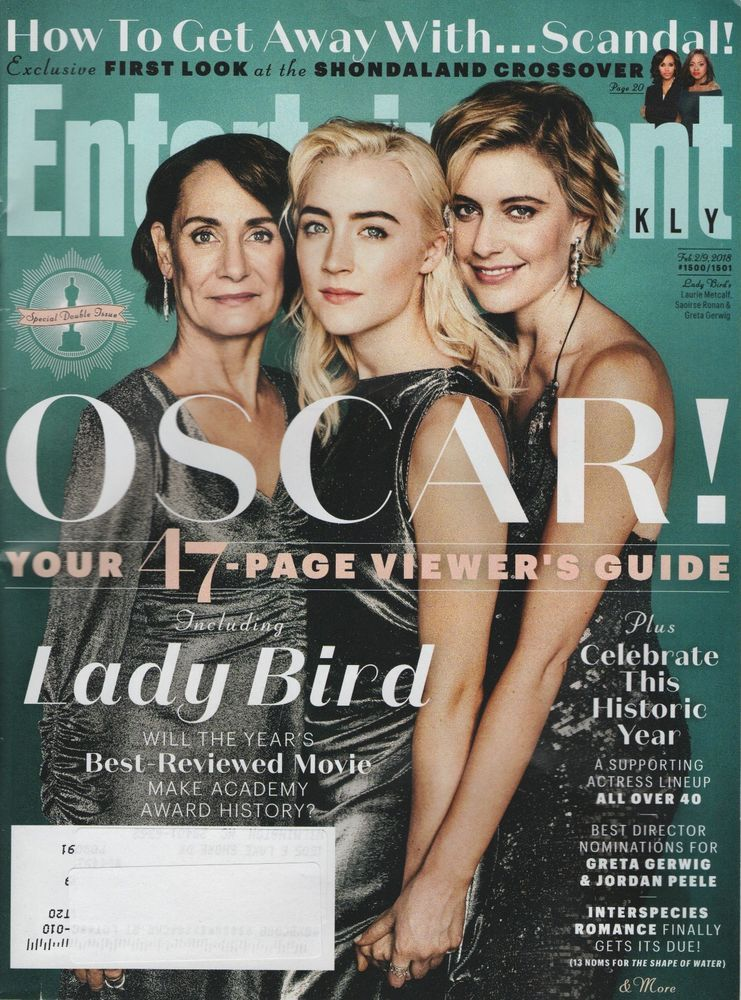 Entertainment Weekly Magazine Feb  Oscar Get Away With Scandal