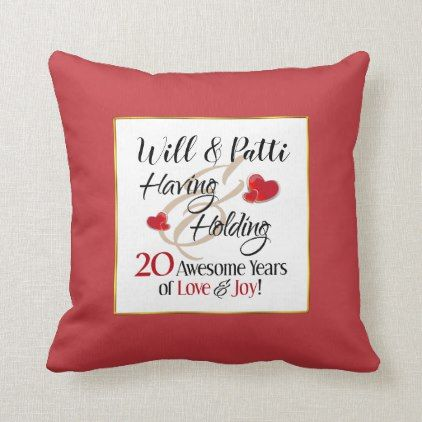 Love Wedding Gifts | Zazzle #20thanniversarywedding