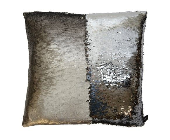 Best Mermaid Sequin Pillow In Smoke 12X20 Sequin Pillow Glam 400 x 300