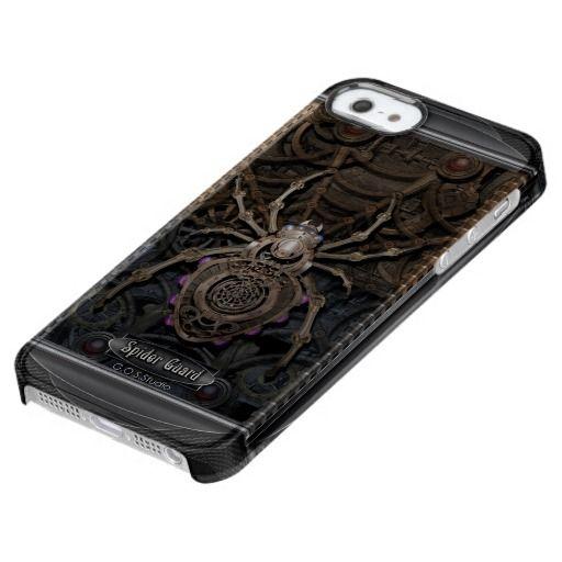 Spider Guard Steampunk. Clear iPhone SE/5/5s Case★ #Steampunk #Samsung #iphone #Cases #S6 #S7 #ipad #samsunggalaxys #victorian #phonecases #accessories #gosstudio