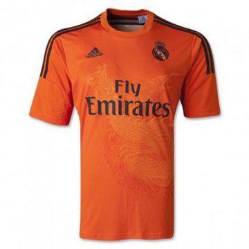 Equipacion Real Madrid Portero 2014 2015 Naranja Soccer Jersey World Soccer Shop Sports Shirts