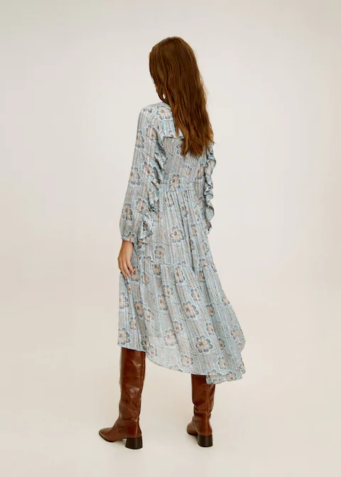 Pilili Gomlek Elbise Kadin Mango Turkiye Gomlek Elbise The Dress Kadin