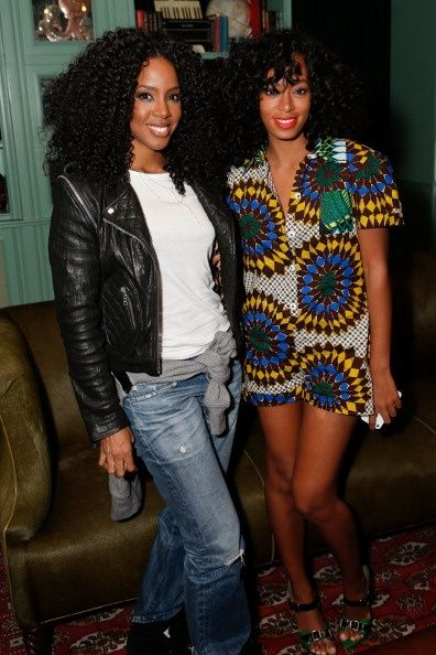 Kelly and Solange