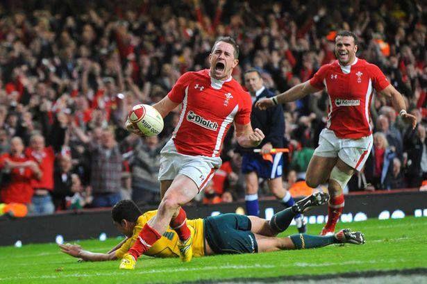 Shane's Last Welsh Try