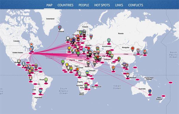 afp ediplomacy map US embassy on Twitter Digital Diplomacy