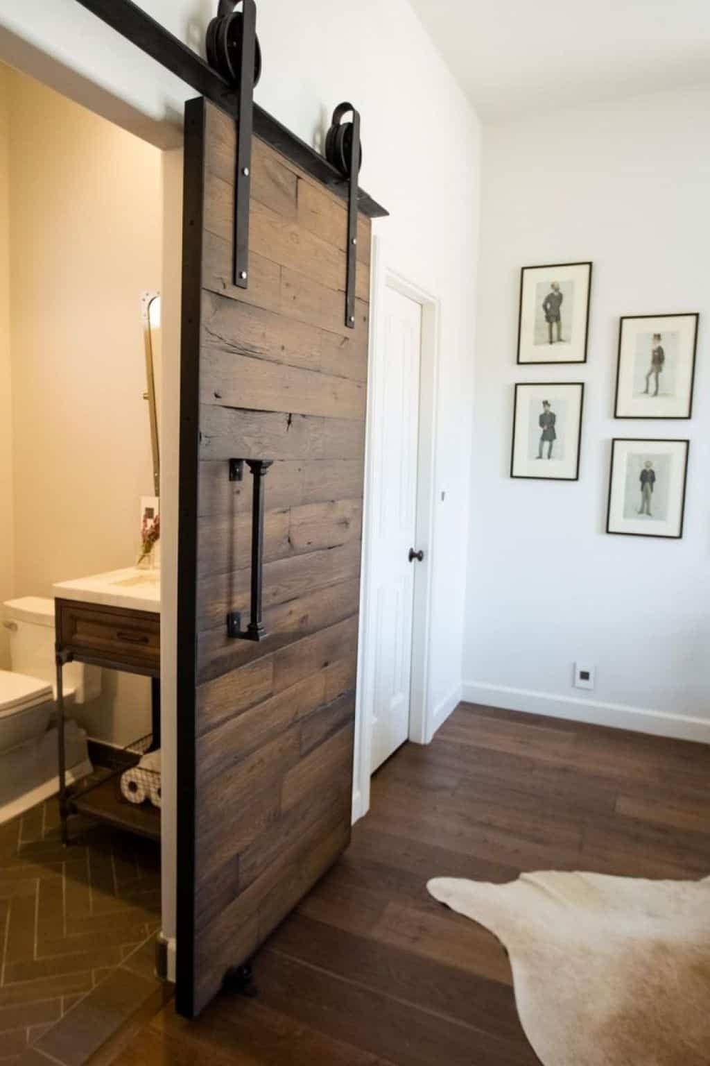 Fix A Squeaky Sliding Door In Your House With Images Bedroom Barn Door Barn Door Designs Bathroom Remodel Cost