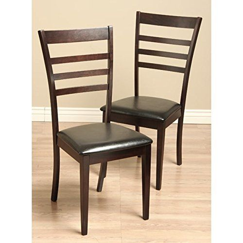 Warehouse Of Tiffany Crystal Leather Dining Room Chairs Set Of 2 Fair Beige Leather Dining Room Chairs Inspiration