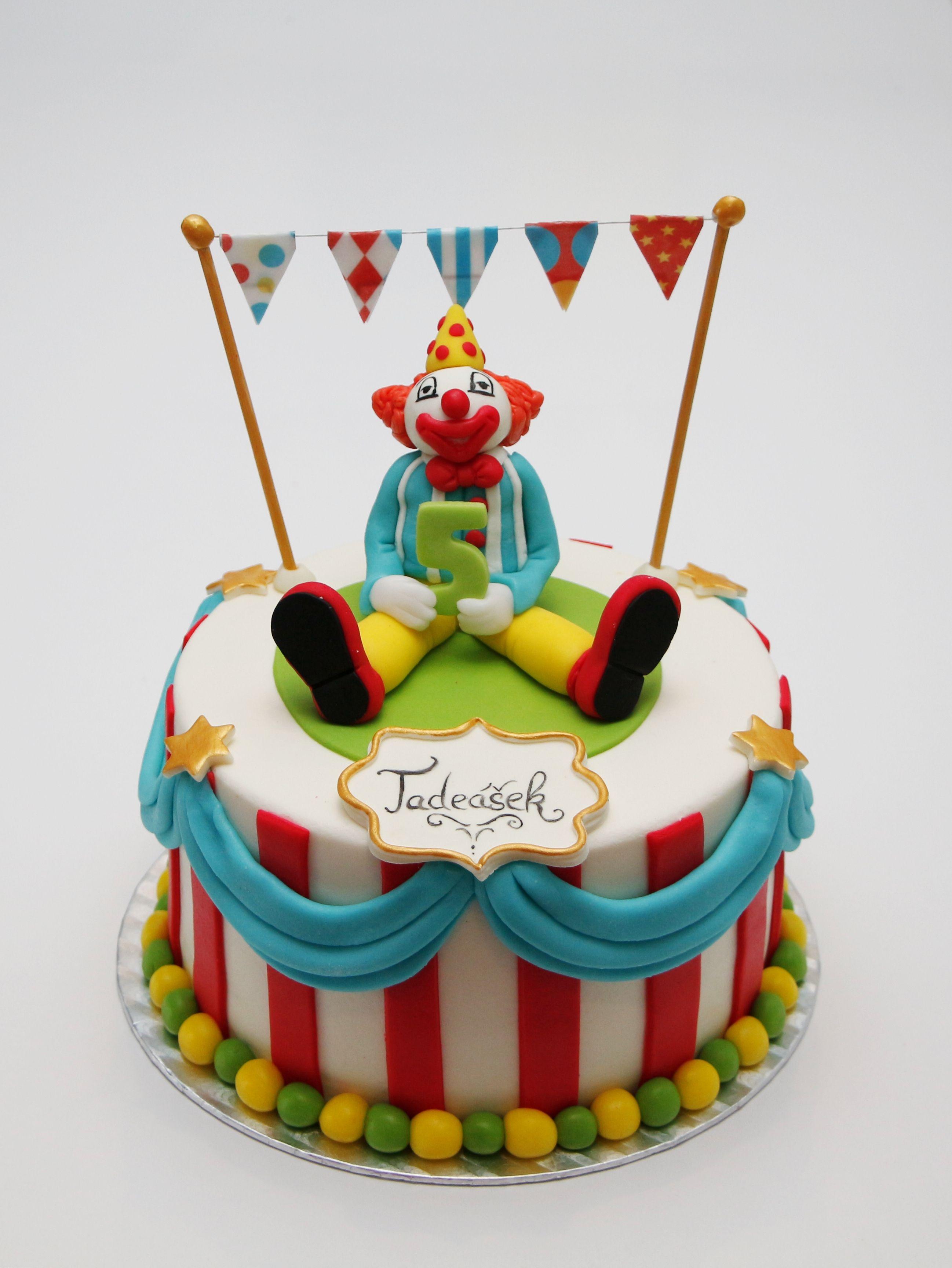 Clown Cake Aa Luxury Cakes Pinterest Clown Cake Cake And