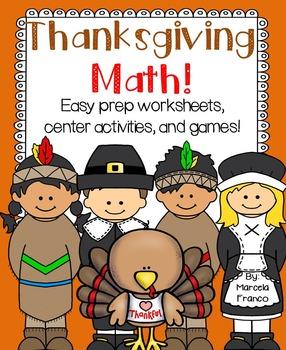math worksheet : thanksgiving math for first grade easy prep worksheets center  : Math Worksheet Center