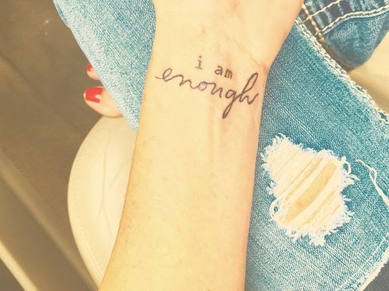 20 Meaningful Tattoos Which Can Be Your Daily Reminder That It's Going To Be Alright In The End -   25 meaningful wrist tattoo