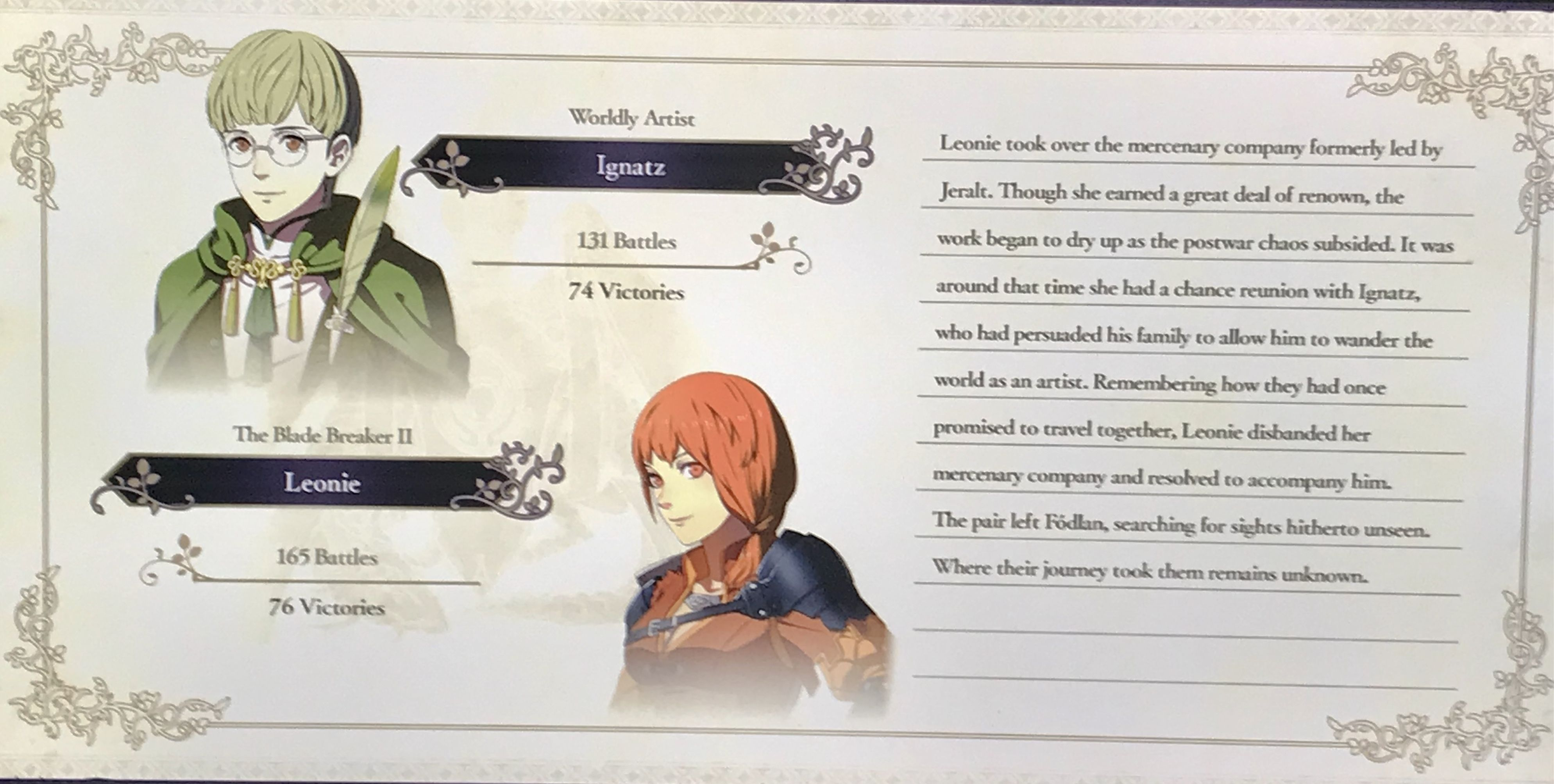 Ignatz Leonie Ending Fe 3h Fire Emblem Emblems Fire It might be a funny scene, movie quote, animation, meme or a mashup of multiple sources. leonie ending fe 3h fire emblem