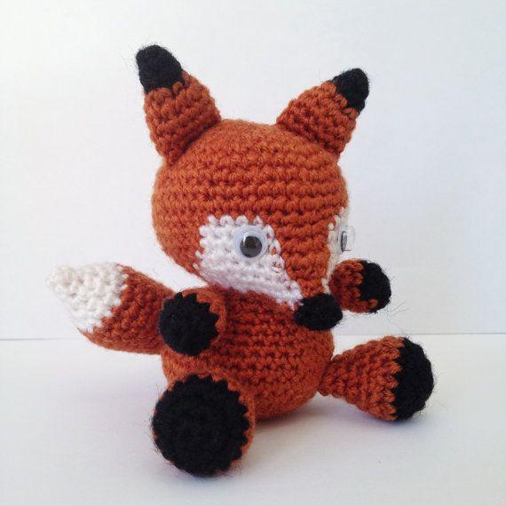 FOX Amigurumi Pattern Foxy Red Panda Baby Animal Easy DIY PDF ...