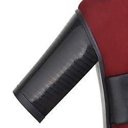 scarpe da donna punta rotonda stivali tacco grosso caviglia più colori disponibili   LightInTheBox
