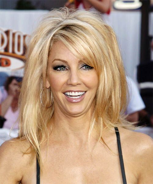 Heather Locklear Hairstyle   Long Straight Casual