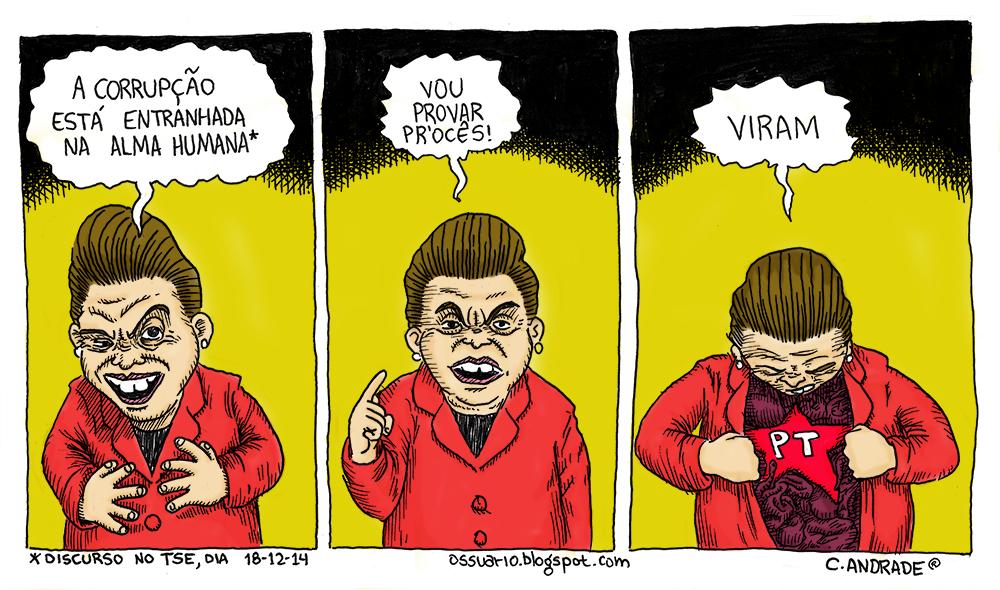 Corrupção no Brasil, por Cesar Andrade.