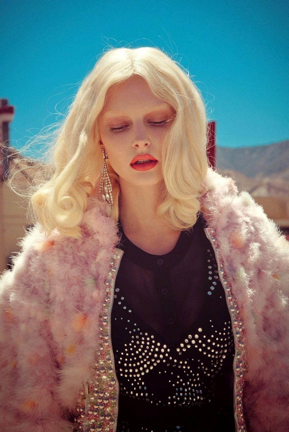 Auguste Abeliunaite by Sofia Sanchez & Mauro Mongiello for Numéro September 2014 #blonde diva
