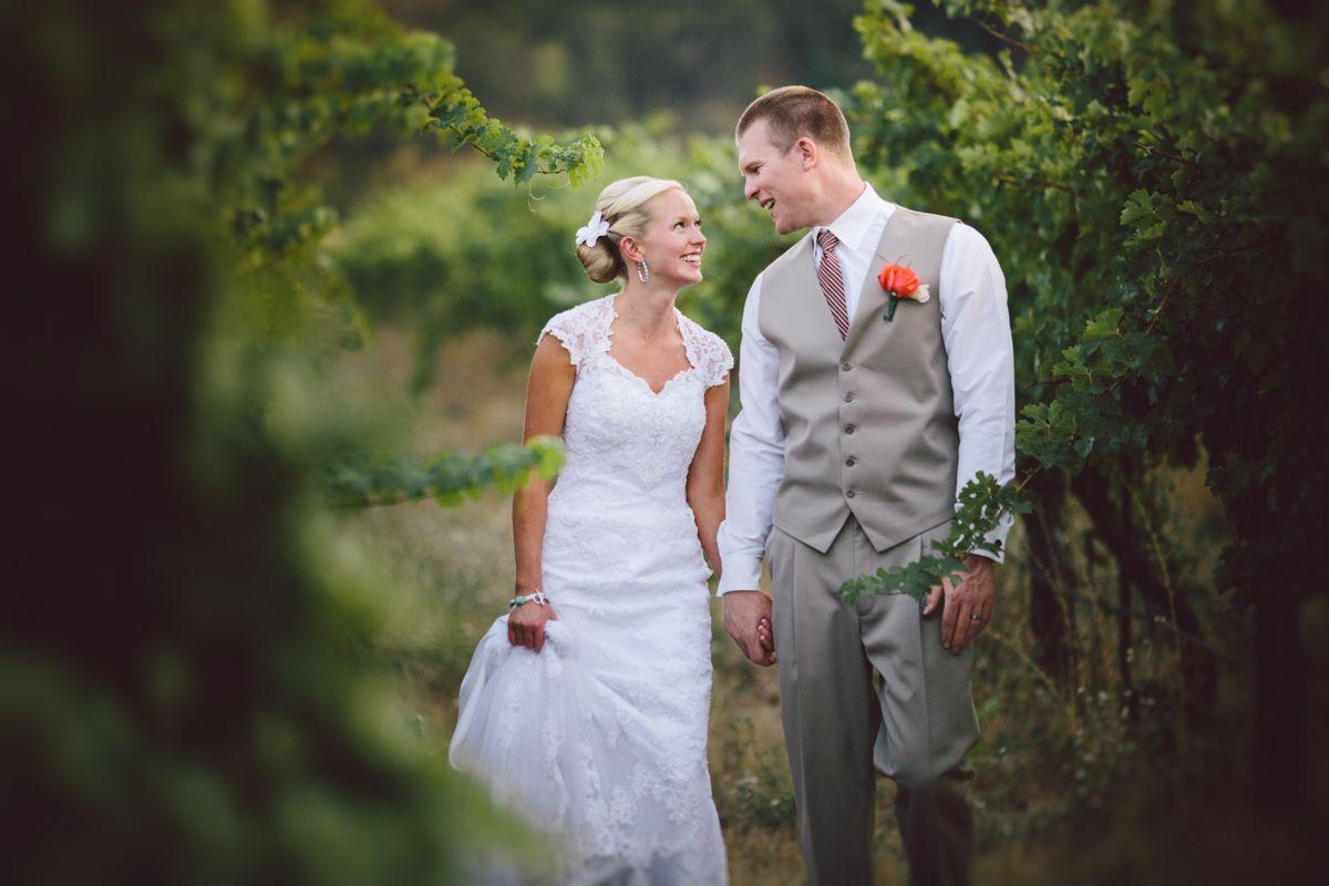 Vineyard wedding pyrenees vineyard hurtienne photography oregon