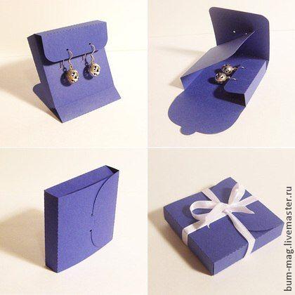 коробочка для сережек своими руками - Поиск в Google
