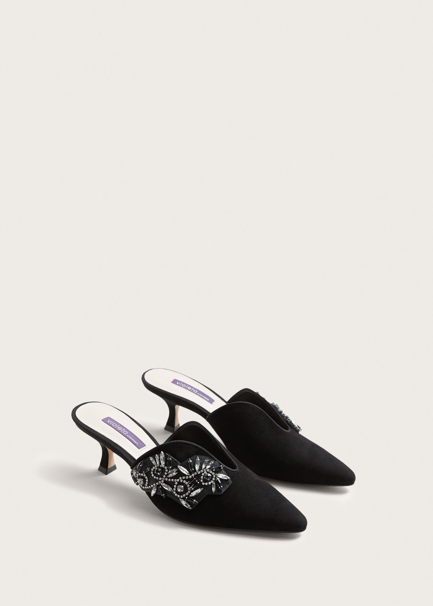 Violeta by Mango Mules - black