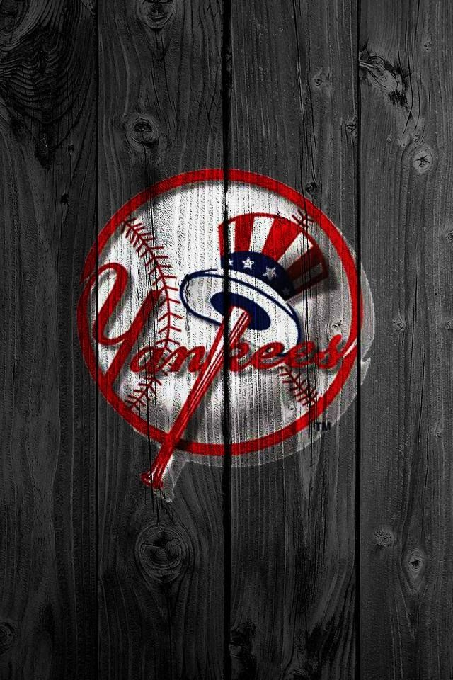 Pin By Avelardo On J Baseball Wallpaper Mlb Wallpaper New York Yankees Logo